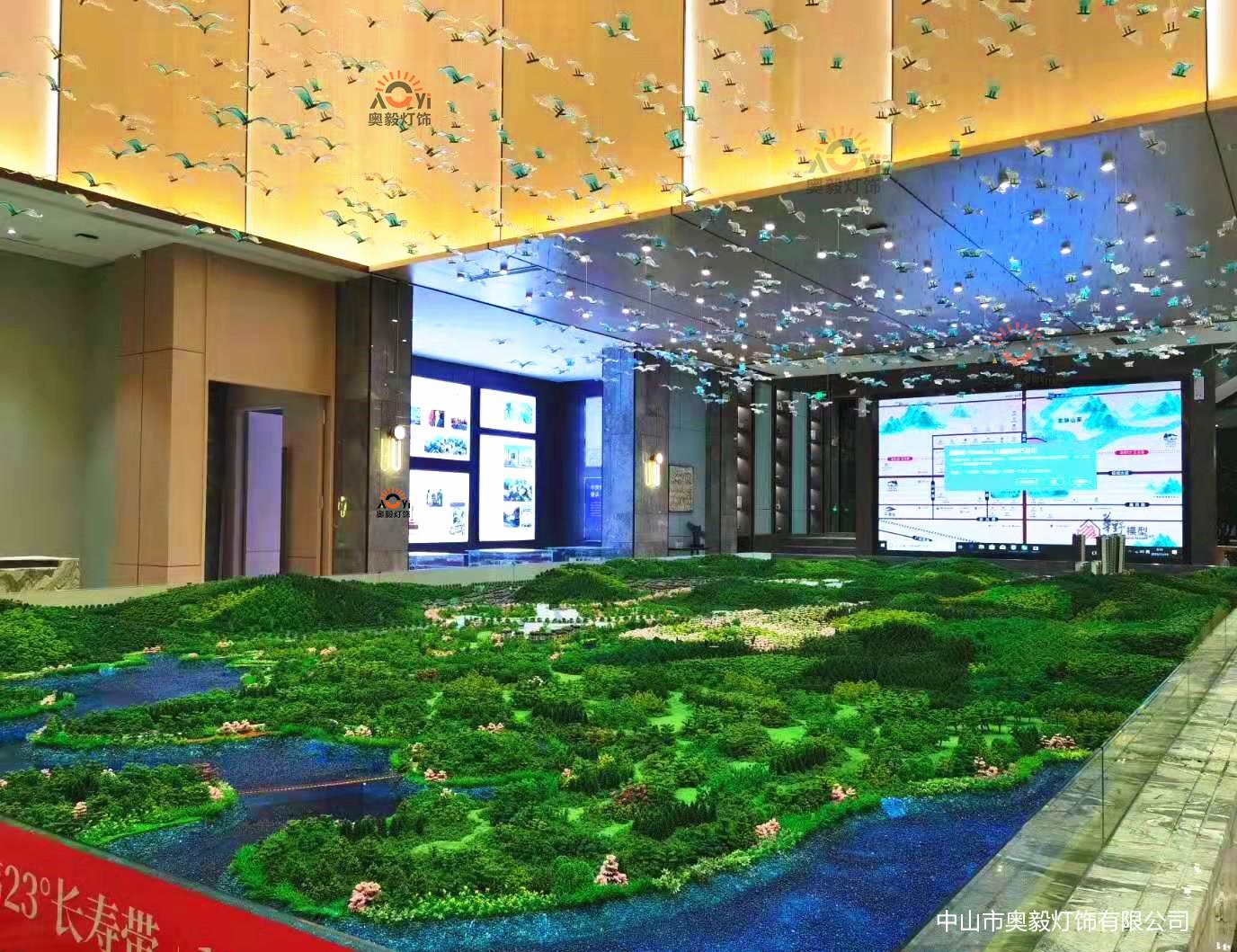 奥毅定制案例∣广西芦仙湖生态小镇售楼部
