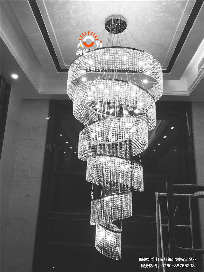 奥毅工程案例   别墅项目灯罩