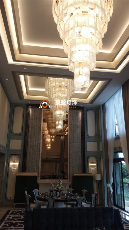 奥毅工程案例 | 江苏别墅灯具