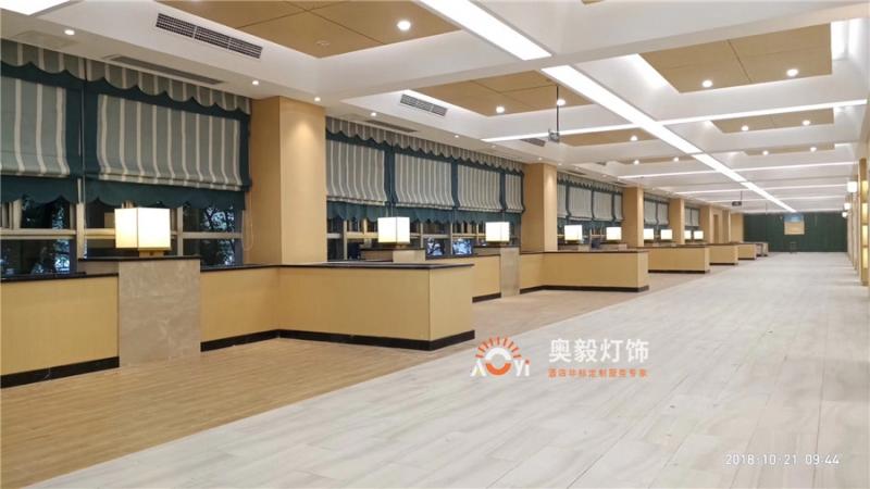 奥毅工程案例   重庆某办公书院项目