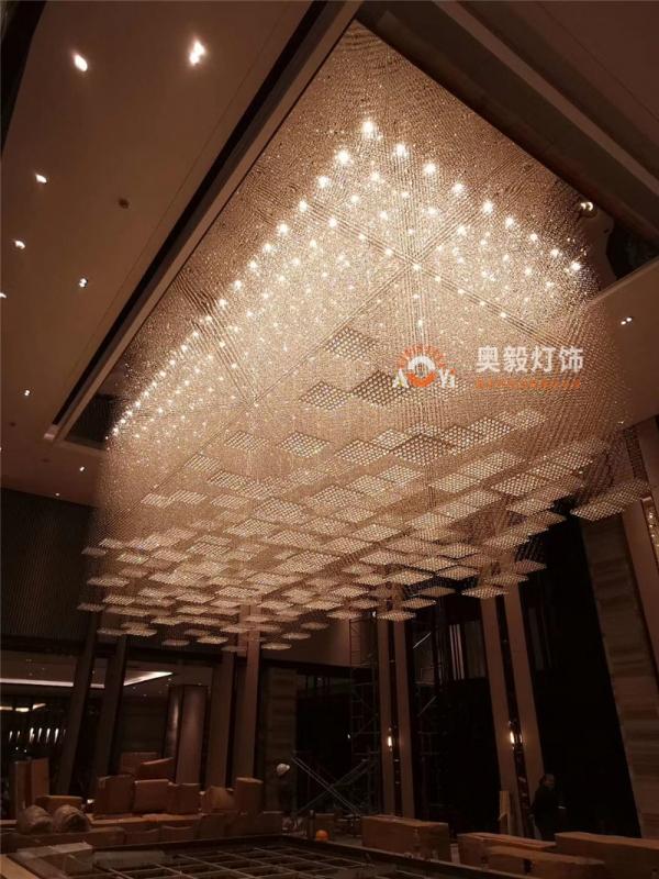 酒店大堂售楼部水晶灯