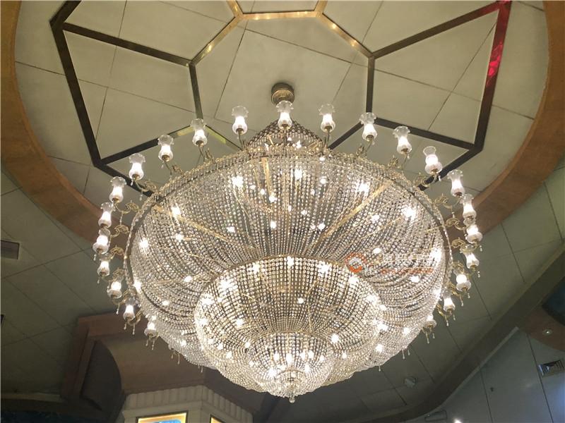 酒店会所别墅欧式水晶灯