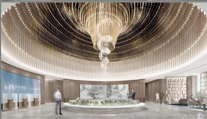 酒店大堂售楼部销售中心艺术灯