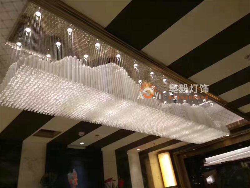 酒店会所KTV售楼部吧台吊灯