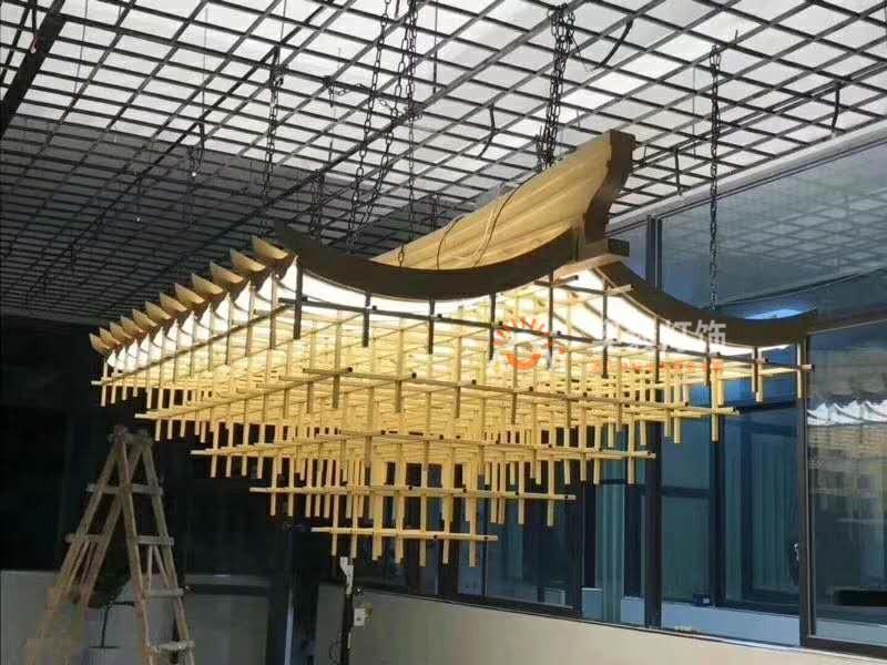 新中式屋檐装饰灯